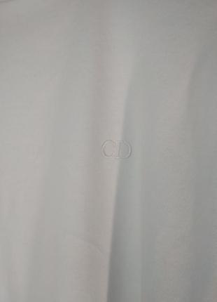 Водолазка гольф белый хлопок christian dior3 фото