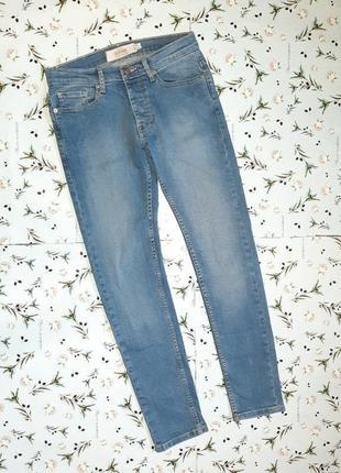 Акция 1+1=3 фирменные узкие джинсы скинни стрейч topman, размер 42 - 441 фото