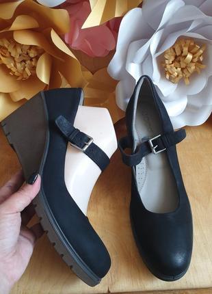 Ессо туфлі із нубуку