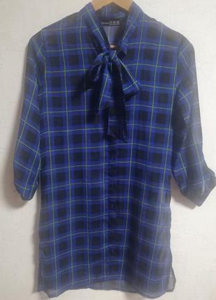 Стильное платье - рубашка atmosphere размер xs-s