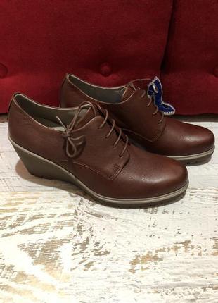 Супер цена! кожаные туфли большого размера