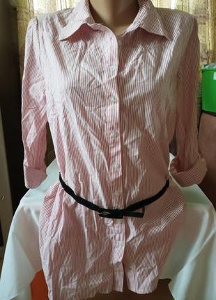 Новая  удлиненная рубашка cache-cache, франция, l