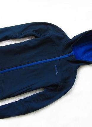 Стильная термо кофта куртка  бомбер с капюшоном mountain warehouse