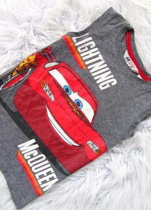Стильная майка футболка h&m cars