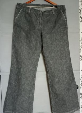Крутые джинсы. отличные брюки. большой размер. батал . клеш. трубы
