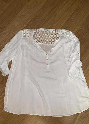 Лёгкая рубашка george 20-22 p