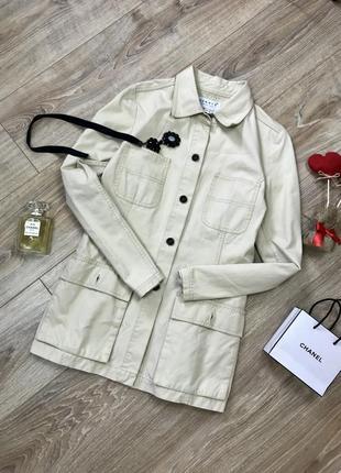 Стильный легкий удлиненный пиджак парка 😍