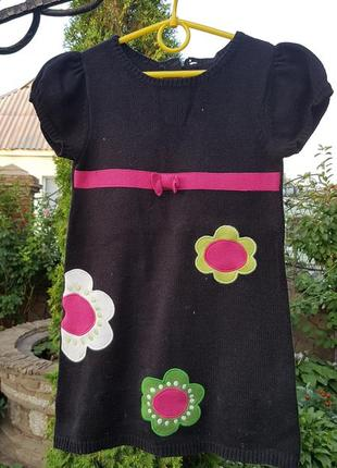 Теплое платье crazy8 р.5л