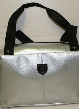 Новая спортивная/дорожная сумка серебро