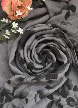 Двухсторонний ♥️😎♥️ шерстяной шарф хомут из 100 шерсти fata morgana.