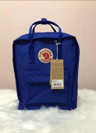 Рюкзак fjallraven kanken канкен портфель сумка classic 16 литров синий