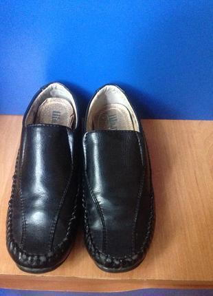 Кожаные туфельки , тм шалунишка , 26 р.