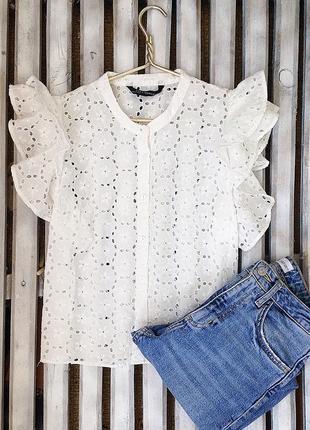Женственная блуза zara4 фото