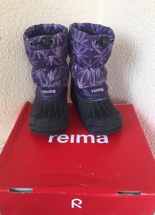 Ботинки зимние reima термо размер 28/29 стелька 18,5 см