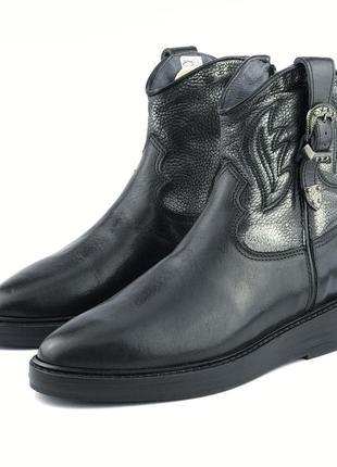 Кожаные ботинки hip (испания)