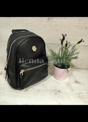Мягкий полуспортивный городской рюкзак david jones cm5357 черный