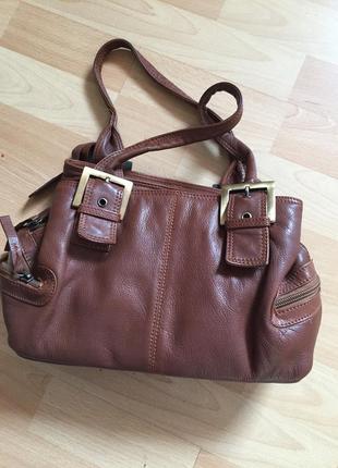 Кожаная сумка clark's