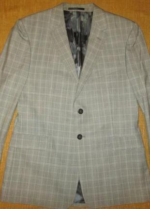 Paul smith мужской пиджак в клетку блейзер р. 50