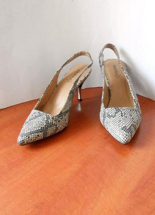 """Стильные босоножки - туфли """"лодочки"""" от бренда profile, р.37 код l3708"""