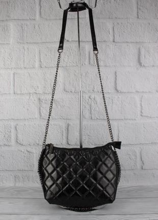 Клатч, сумочка через плечо valensiy 20910-1 черная
