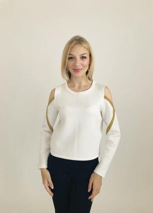 Отличный женский свитшот с открытыми плечами. стильно и актуально. desigual2 фото