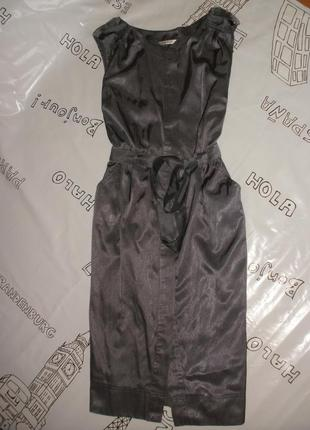 Платье-халат, платье без рукавов, платье в деловом стиле george
