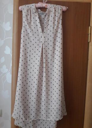 Платье нежно розового цвета h&m