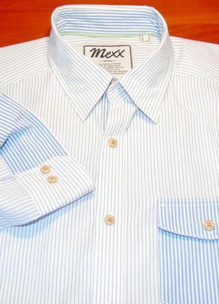 Mexx шикарная брендовая рубашка - s - m