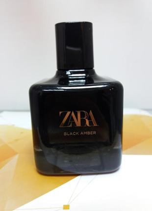 Zara black amber / парфюм / духи !!