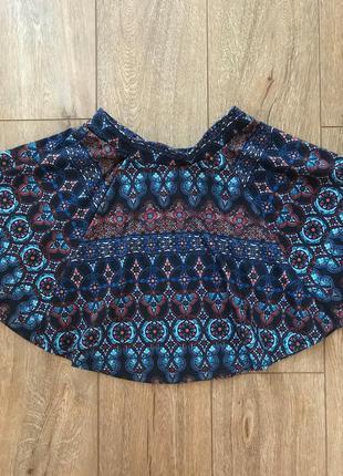 Шикарная юбка солнцеклёш