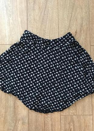 Легкая юбка солнцеклёш