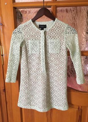 Кружевная дизайнерская блузка victoria beckham