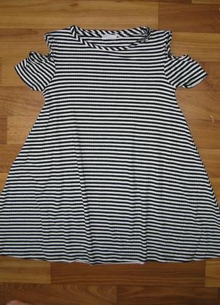 Туника-платье f&f на 7-8 лет
