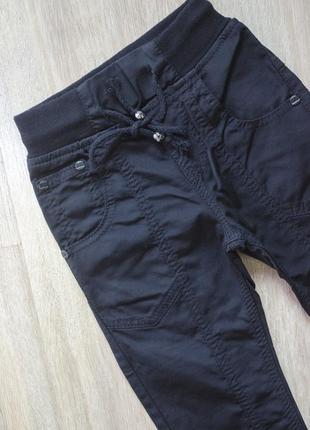 Фирменные брюки на резинке