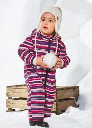 Детский зимний комбинезон lupilu на девочку