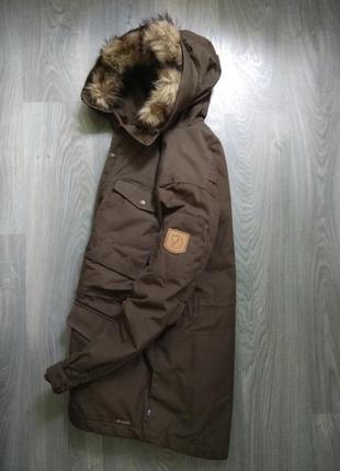 52р fjallraven парка зимняя термо куртка sarek