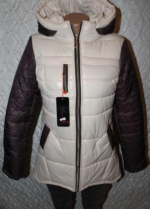 Летняя распродажа!!! стильная и тёплая курточка-пуховик от sabina (украина)