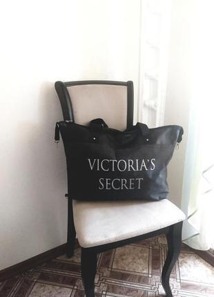 Повседневная,пляжная сумка в стиле victoria's secret