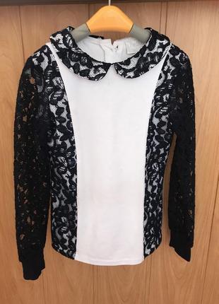 Блузка , рубашка , школьная форма , 1-2 класс, 122-134 размер . zironka.