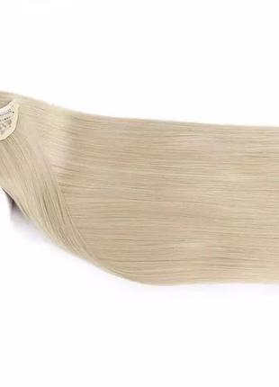 Трессы одиночная прядь, накладные волосы, парик, парик блонд
