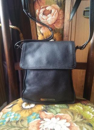 Мужская кожаная сумка-планшет   немецкого бренда gerry weber