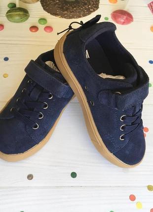 Туфли макасины h&m 27 размер, натуральная кожа