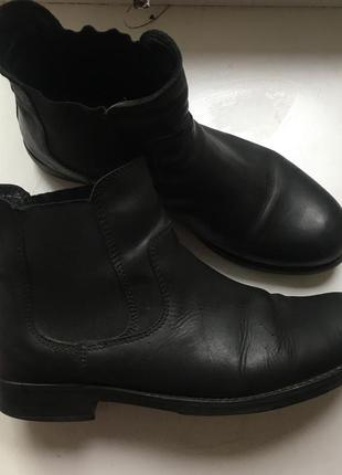 Кожаные ботинки face