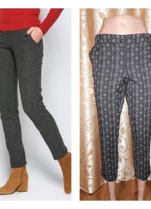 🌺🎀🌺стильные, укороченные брюки, штаны 7/8 next petite🔥🔥🔥