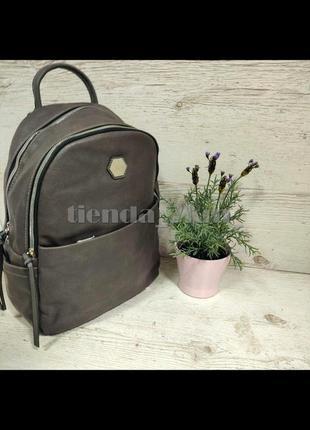 Городской полуспортивный рюкзак david jones cm5312 серый