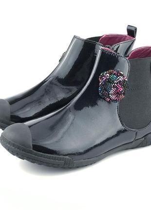 Кожаные ботинки для девочки mod8