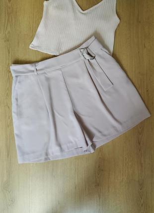 Лёгкие шорты с поясом от new look