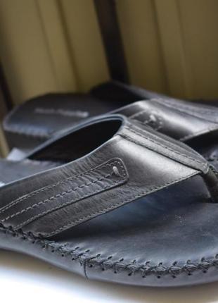 Кожаные фирменные вьетнамки шлепанцы шлепки сланцы тапки