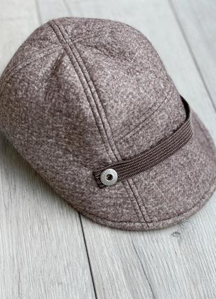 Шерстяна шапка,кепи brunello cucinelli