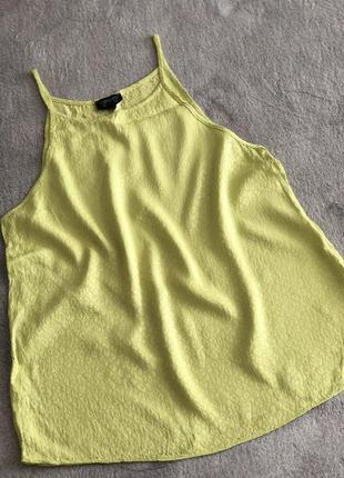 Topshop блуза свободного кроя